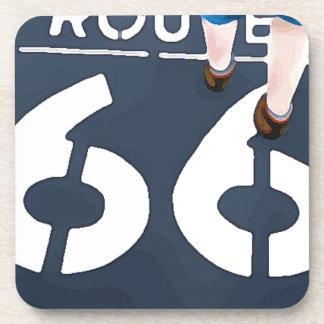 Walking on Route 66 Coaster