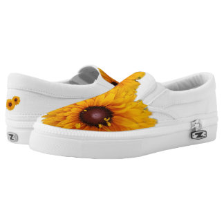 Walking On Sunflowers Slip-On Shoes