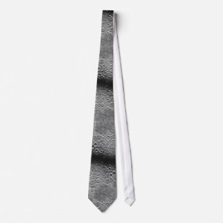 Walking on the Moon's Surface Textured Fashion Tie