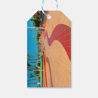 Walking on the streets of Baja Gift Tags