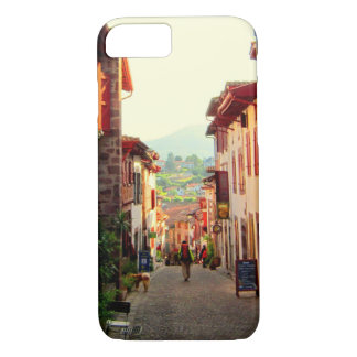 Walking out of St. Jean Pied de Port, France iPhone 8/7 Case