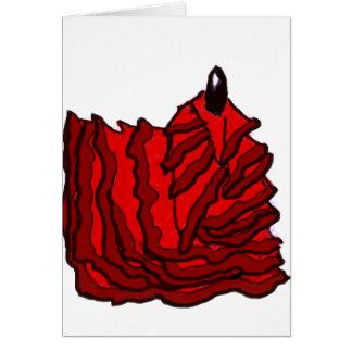 Walking out of the Dream - llama del flamenco Card
