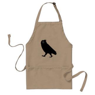 Walking Owl Silhouette Standard Apron