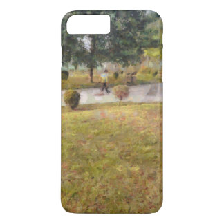 Walking path and greenery iPhone 7 plus case