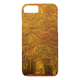 Walking path through the forest in autumn iPhone 7 iPhone 7 Case
