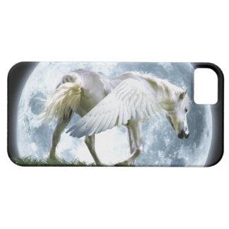 Walking Pegasus & Full Moon Fantasy Art Case iPhone 5 Cover