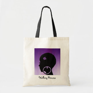 Walking Princess Tote Bag