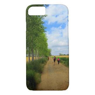 Walking the Camino de Santiago iPhone 8/7 Case