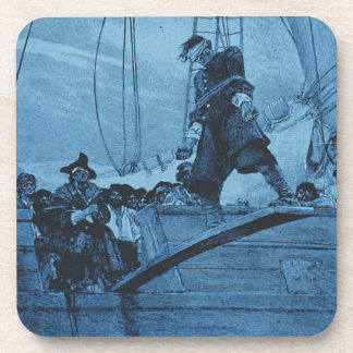 Walking the Plank Drink Coasters