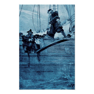 Walking The Plank Poster