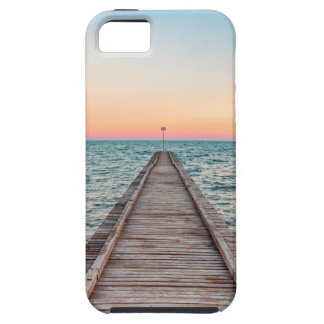Walking towards the infinity of the sea iPhone 5 cases