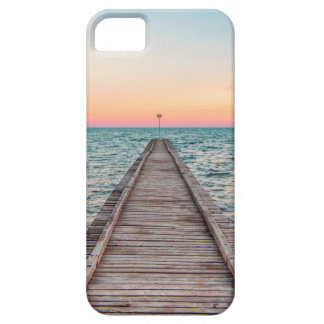 Walking towards the infinity of the sea iPhone 5 cover