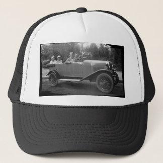 Walking trip trucker hat