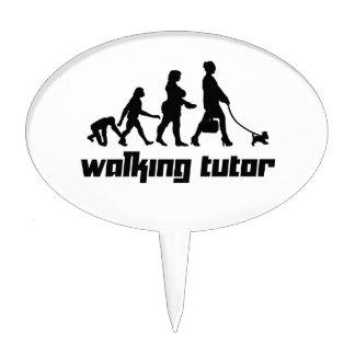 Walking Tutor Cake Toppers