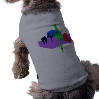 Walking Two Dogs Shirt