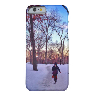 Walking Under A Winter Sunset Barely There iPhone 6 Case