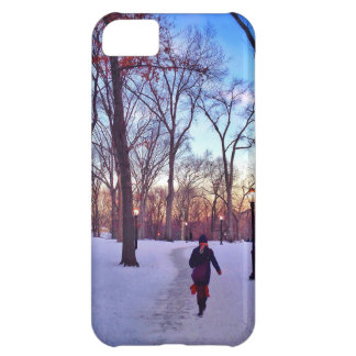 Walking Under A Winter Sunset iPhone 5C Case