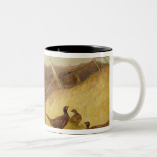 Walking up Pheasants on the 1st of October (see al Two-Tone Coffee Mug