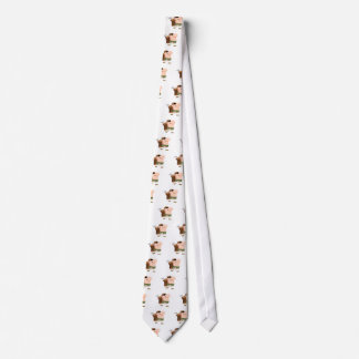 walking with golf clubs tie