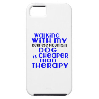 Walking With My Bernese Mountain Dog Dog Designs iPhone 5 Cover