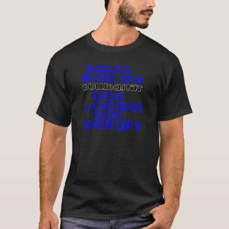 Walking With My Bullmastiff Dog Designs T-Shirt
