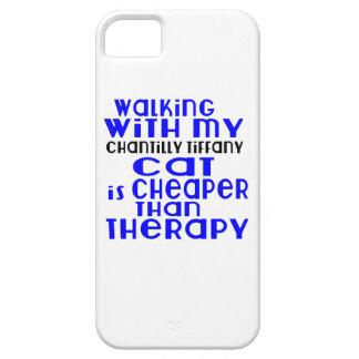 Walking With My Chantilly Tiffany Cat Designs iPhone 5 Cover