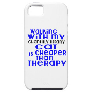 Walking With My Chantilly Tiffany Cat Designs Tough iPhone 5 Case