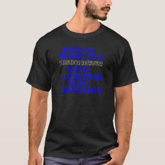 Walking With My Labrador Retriever Dog  Designs T-Shirt
