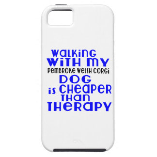 Walking With My pembroke welsh corgi Dog Designs iPhone 5 Cover