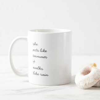 Walks Like Rain Mug