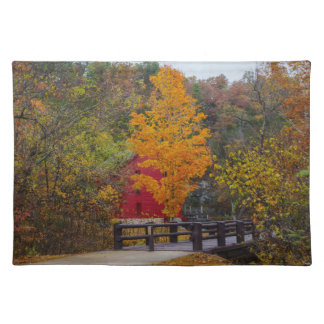 Walkway Bridge To Alley Mill Placemat
