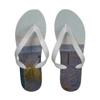 walkway florida beach dune sunrise Flip-Flops