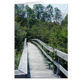 """Walkway, Green Mountain National Forest"" Card"