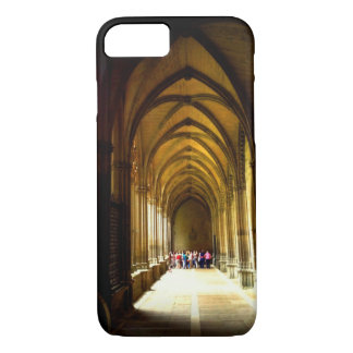 Walkway in the Cathedral in Pamplona, Spain iPhone 8/7 Case