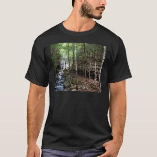 walkway near stream T-Shirt