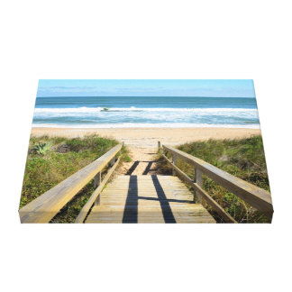 Walkway To The Beach Canvas Print