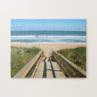 Walkway to the beach jigsaw puzzle