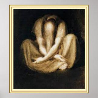 """Wall Art -""""Silence"""" by Henry Fuseli"""