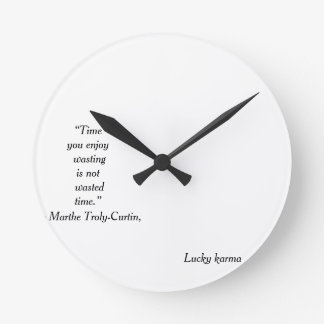 wall clock acrilic by lucky karma