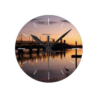 Wall Clock -Bridge of Lions, St. Augustine, FL