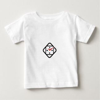Wall clock business logo t-shirts