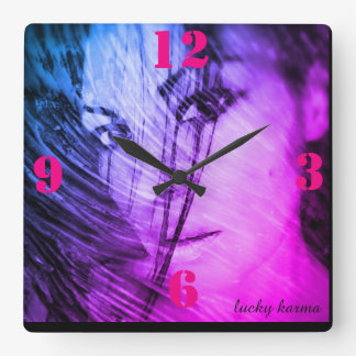 wall clock by lucky karma