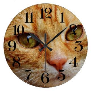wall clock cat