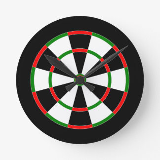 Wall clock - dartboard clock design