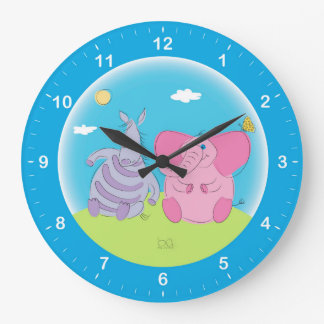 Comwall Clock For Kids Room : wall clock for kids room