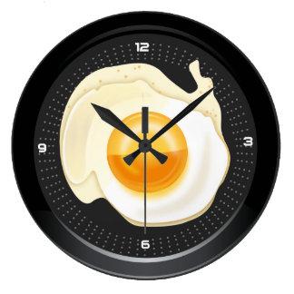 Wall Clock Poached Egg Pan