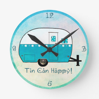 WALL CLOCK | Retro Camper