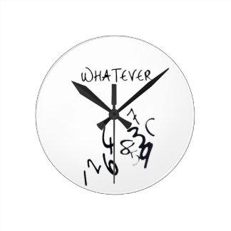 Wall Clock - whatever
