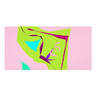 Wall Fall Window Leaves Twigs Bird Wind Photo Greeting Card