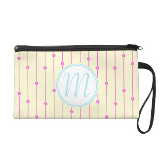 Wall Flowers Monogram Wristlet/Clutch Wristlet Purses